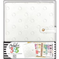 Happy Planner Deluxe Medium Planner Covers - Snow Dots
