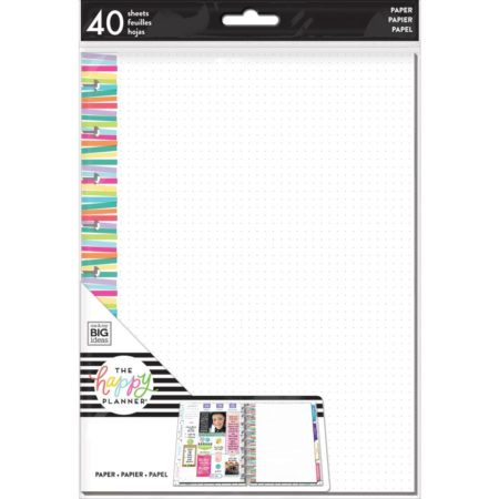 Happy Planner Medium Fill Paper - Multi Stripe