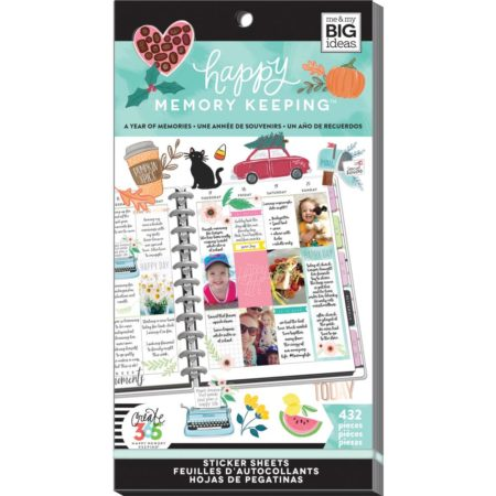 Happy Planner Create 365 Sticker - A Year Of Memories