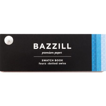 Bazzill 2018 Cardstock Swatchbook - Fourz & Dotted Swiss