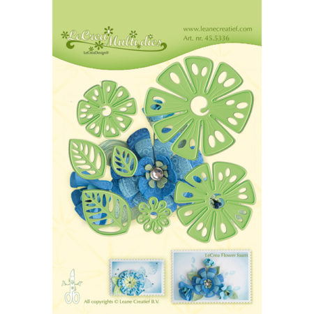 Leane - Die Cut & Embossing - Fantasy Flower - 45.5336