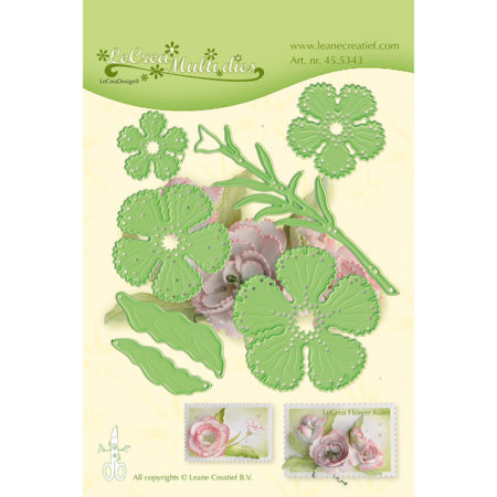 Leane - Die Cut & Embossing - Carnation - 45.5343