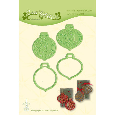 Leane - Die Cut & Embossing - Ornaments - 45.5404