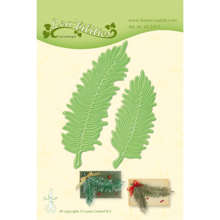 Leane - Die Cut & Embossing - Christmas Branches - 45.5411