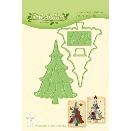 Leane - Die Cut & Embossing - Christmas Tree - 45.5428
