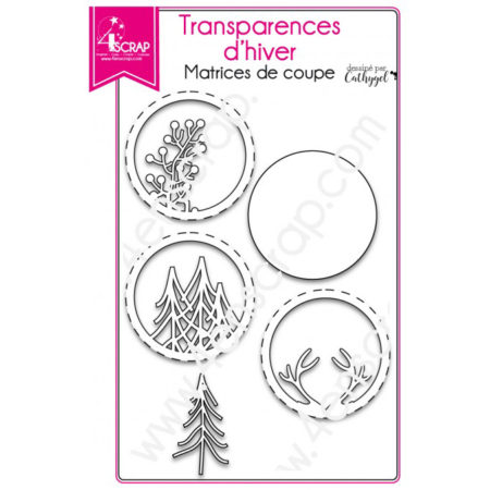 4enscrap Dies - Winter transparencies - 4EN-176