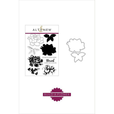 Altenew Stamp & Die Set Build-A-Flower - Gardenia