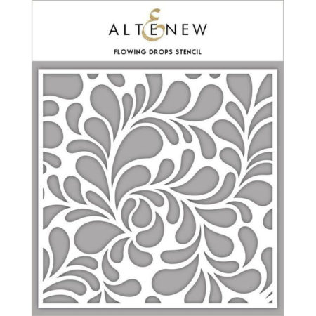 Altenew - Flowing Drops Stencil - ALT2389