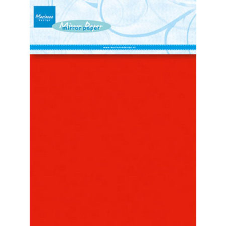 Marianne Design - Red Mirror Paper A5 - CA3137