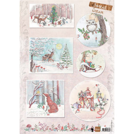 Marianne Design 3D ARK - Els Forest Dream - EWK1262