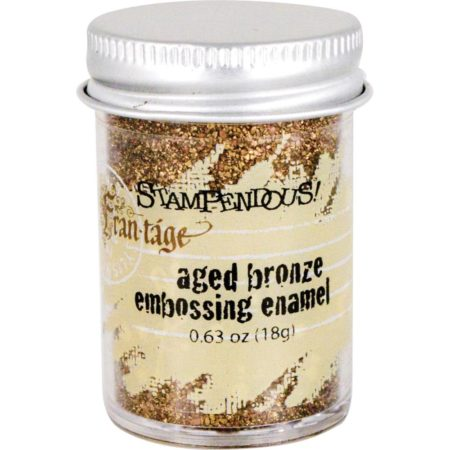 Stampendous Embossing Enamel - Aged Bronze