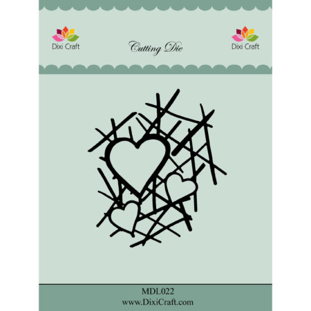 Dixi Craft Dies - Heart Grid - MDL022