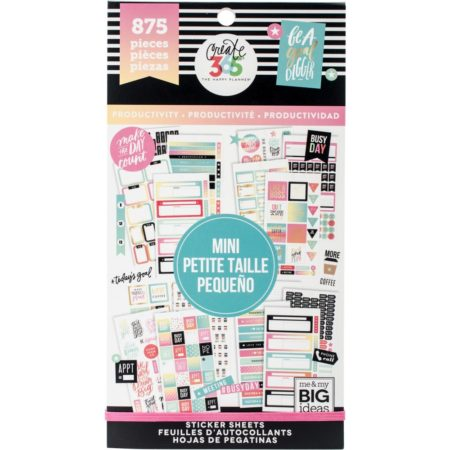 Happy Planner Create 365 Sticker - Productivity - Mini