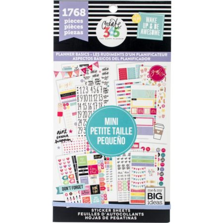 Happy Planner Create 365 Sticker - Planner Basics - Mini