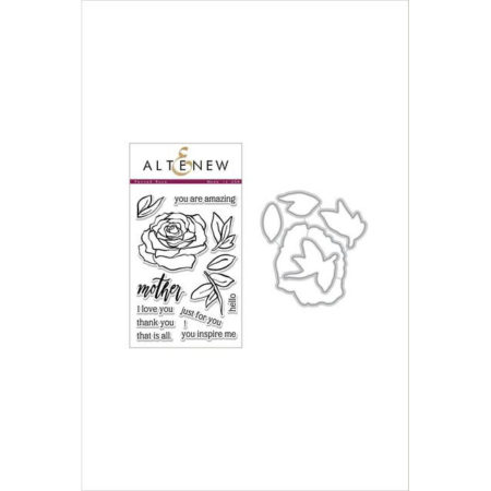 Altenew - Penned Rose Stamp & Die Bundle