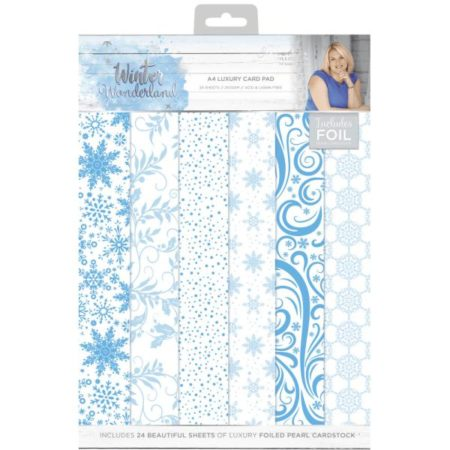 Crafter's Companion Luksus Papirblok - Winter Wonderland