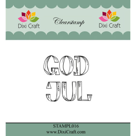 Dixi Craft Stempel - God Jul - STAMPL016