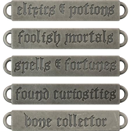 Idea-Ology - Tim Holtz - Antique Nickel Halloween - TH93605