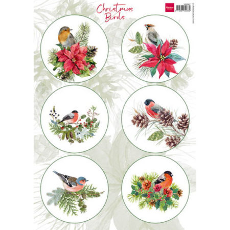 Marianne Design 3D ARK - Christmas Birds 2 - VK9567