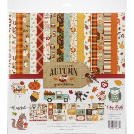 Echo Park Paper Kit - Celebrate Autumn - CAU158016