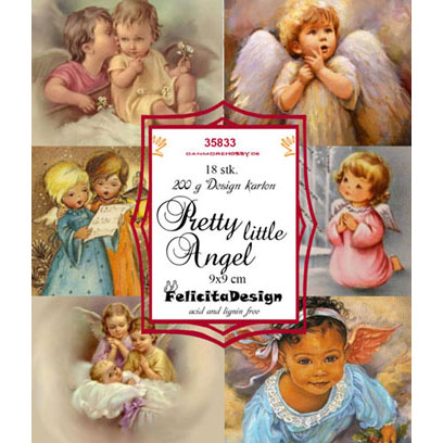 Felicita Design Toppers - Pretty little Angel - 35833