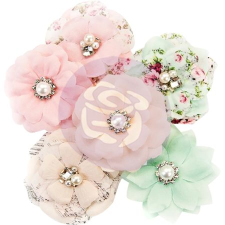 Prima - Misty Rose Fabric Flowers - Addison - 634568