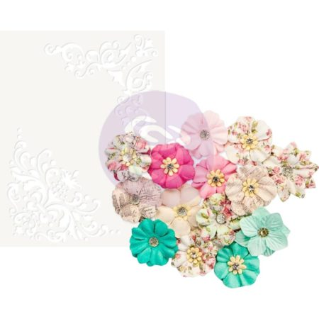 Prima - Misty Rose Mulberry Paper Flower - Ashby - 634582