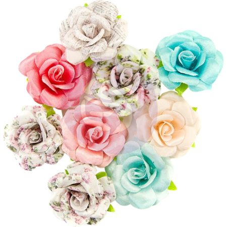 Prima - Misty Rose Fabric Flowers - Fatima - 634605