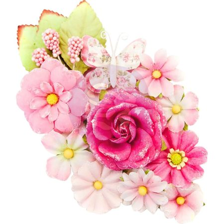 Prima - Misty Rose Mulberry Paper Flower - Lafayette - 634636