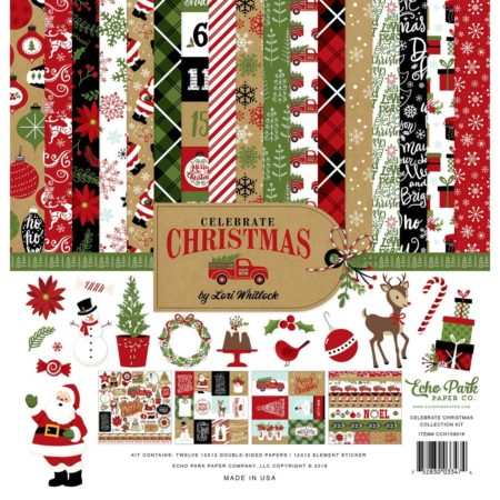 Carta Bella Collection Kit - Celebrate Christmas - CCH159016