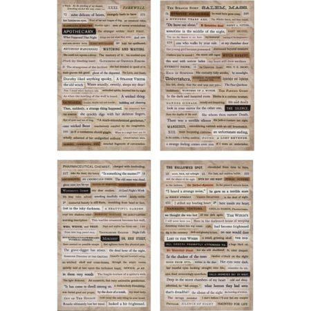 Idea-Ology Tim Holtz - Clippings Stickers - Halloween - TH93719