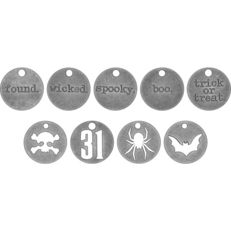 Tim Holtz Idea-Ology - Metal Typed Tokens - TH93721