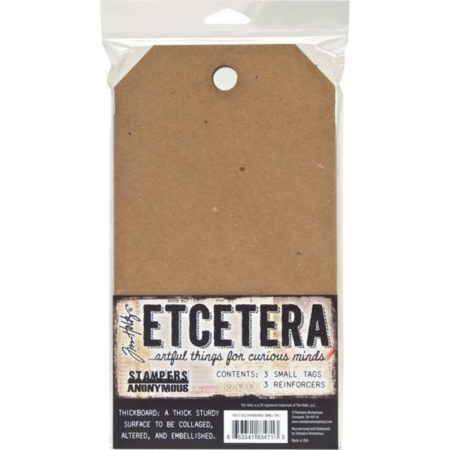Tim Holtz - Stampers Anonym - Etcetera - Small Tag - THETC003