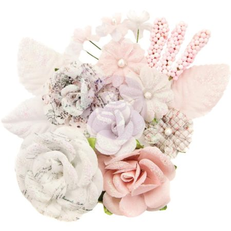 Prima - Lavender Frost - Fabric Flowers - Fragrant Symphony