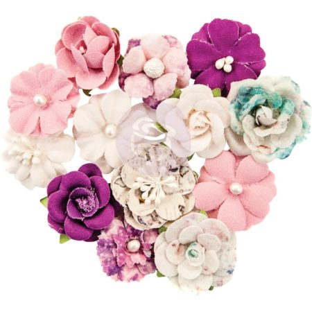 Prima Marketing - Moon Child Paper Flowers - First Eclipse - 636579