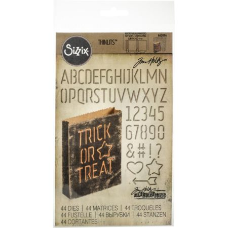 Sizzix Thinlits - Tim Holtz - Treat Bag - 663096