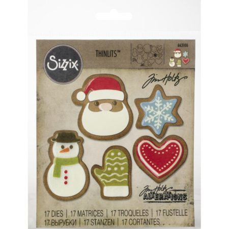 Sizzix Thinlits - Tim Holtz - Fresh Baked #1 - 663100