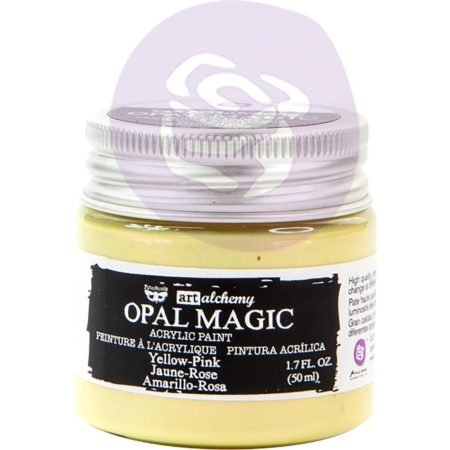 Prima - Finnabair Art Alchemy - Opal Magic - Yellow/Pink