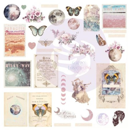 Prima Marketing Moon Child Ephemera Cardstock Die-Cuts