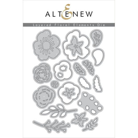 Altenew Die - Layered Floral Elements Die Set - ALT2707