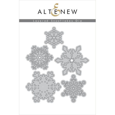 Altenew Die - Layered Snowflakes Die Set - ALT2708