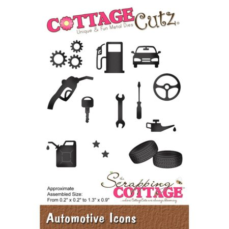 Cottage Cutz Die - Automotiver - CC-468