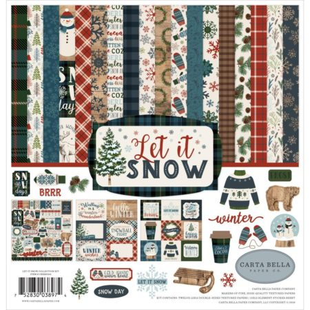 Carta Bella Collection Kit - Let It Snow - SBIS92016