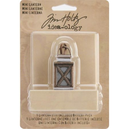 Tim Holtz Idea-Ology - Mini Lantern W/Light - TH93033