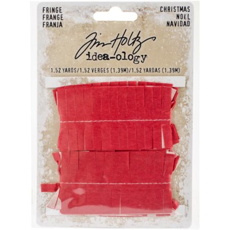 Tim Holtz Idea-Ology - Tissue Fringe Christmas - TH93647
