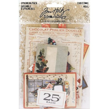 Tim Holtz Idea-Ology - Ephemera Christmas - TH93740