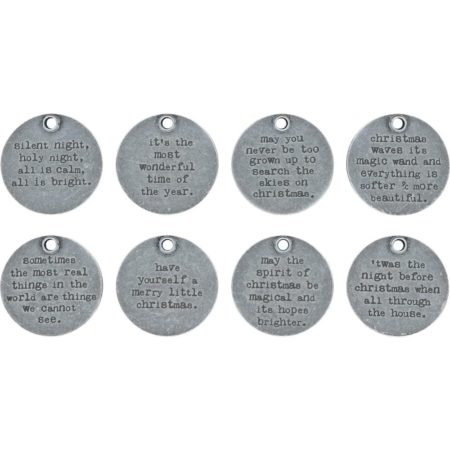 Tim Holtz Idea-Ology - Quote Tokens Christmas - TH93751