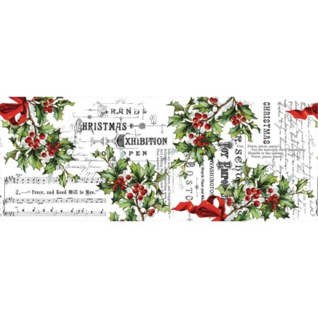 Tim Holtz Idea-Ology - Collage Paper Holly - TH93762