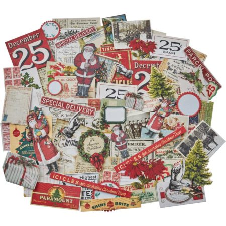 Tim Holtz Idea-Ology - Ephemera Pack Christmas - TH93765