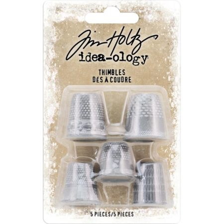 Tim Holtz Idea-Ology - Metal Thimbles - TH93772
